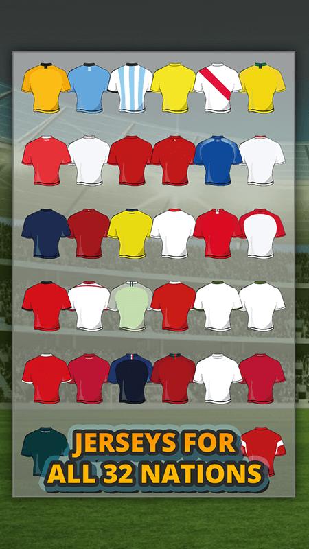 World Cup 2018 Jersey Maker screenshot 2