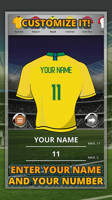 World Cup 2018 Jersey Maker screenshot 3