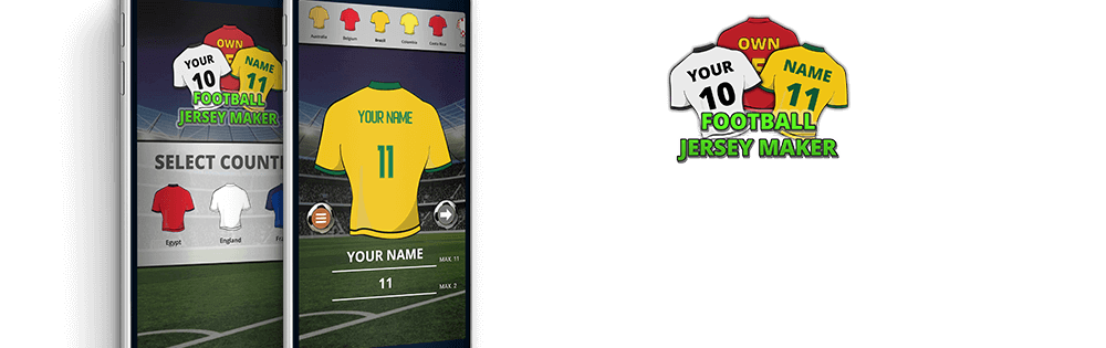 Cover image Football Jersey Maker 2018 1.0.0 (Android)