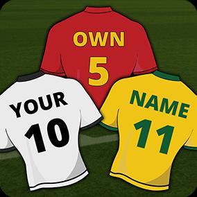 Football Jersey Maker 2018 1.0.1 (Amazon)