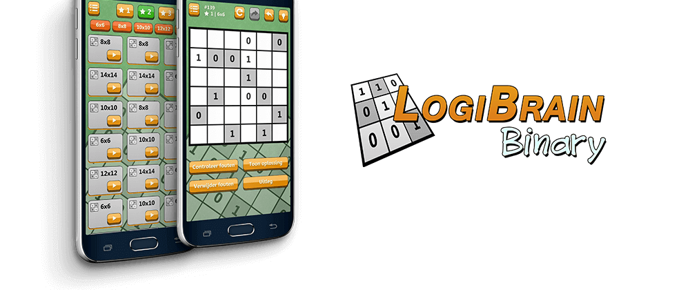 Cover image LogiBrain Binary 1.2.3 (Android)