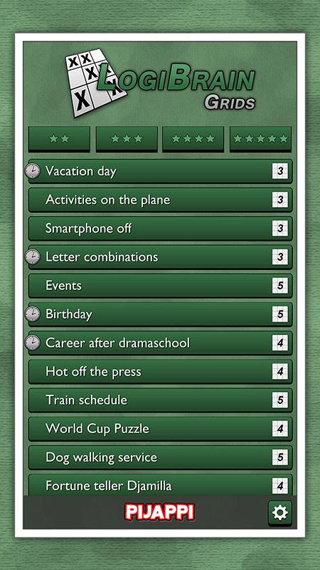 LogiBrain Grids screenshot 2
