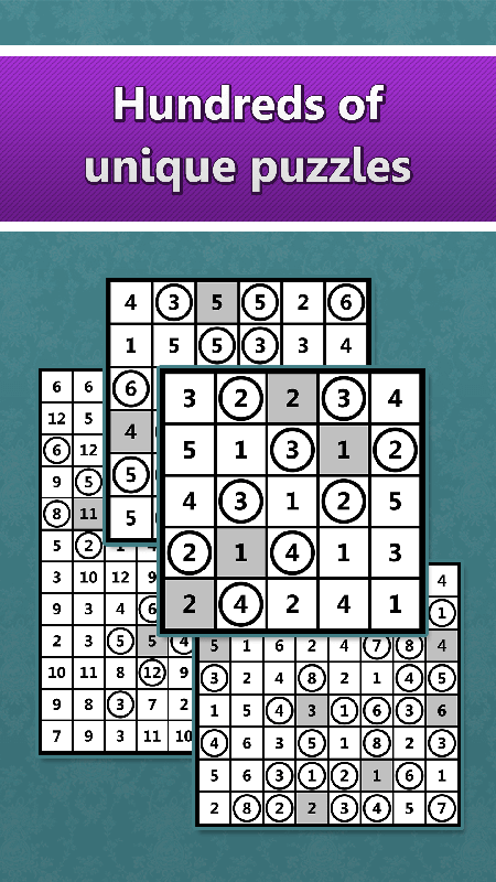 LogiBrain Hitori screenshot 3