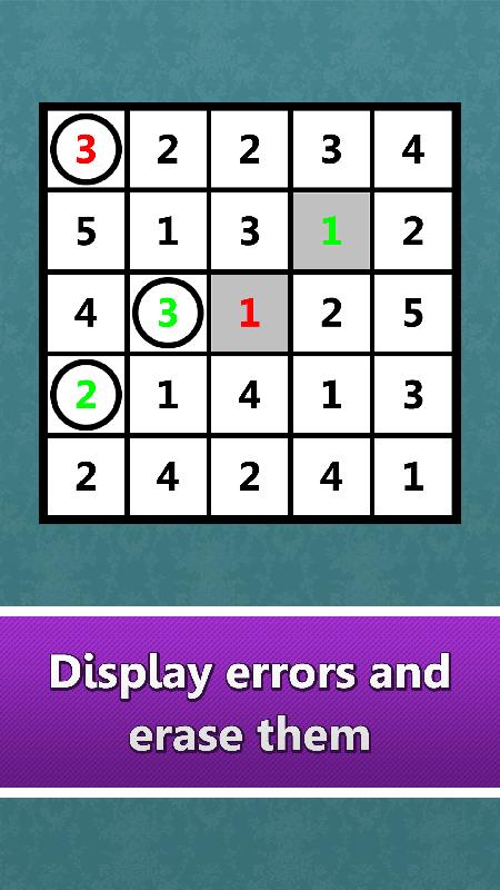 LogiBrain Hitori screenshot 4