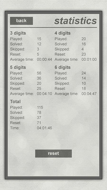 LogiBrain Numbers screenshot 5