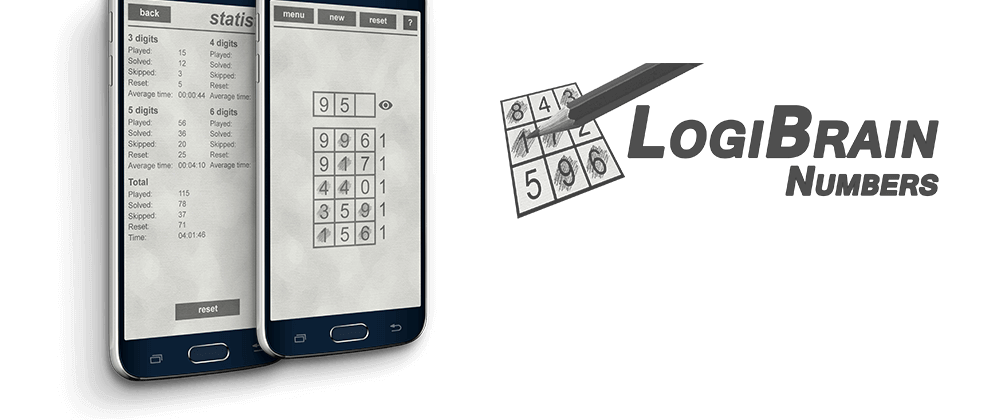 Cover image LogiBrain Numbers 1.2.0 (Android)