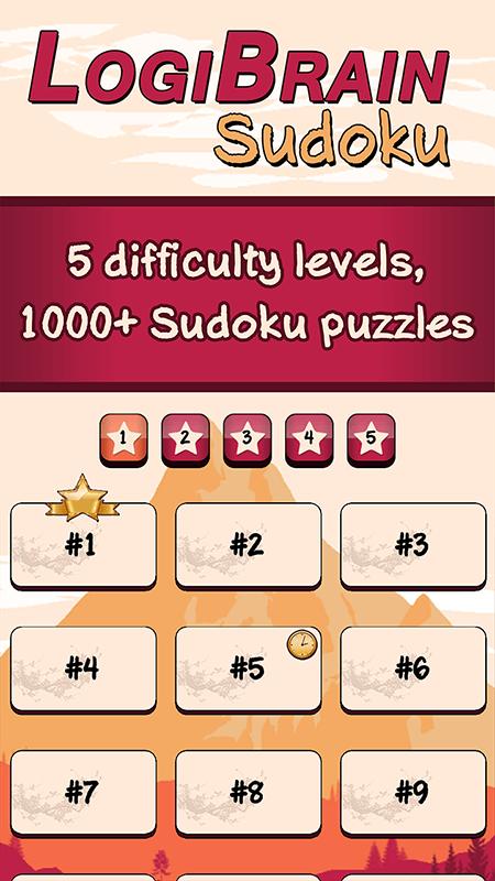 LogiBrain Sudoku screenshot 1