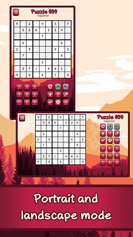 LogiBrain Sudoku screenshot 2